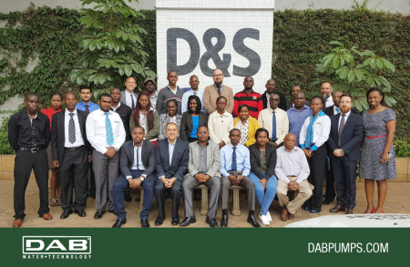 DAB with DAVIS & SHIRTLIFF at the Property Developers Luncheon event in Kenya
