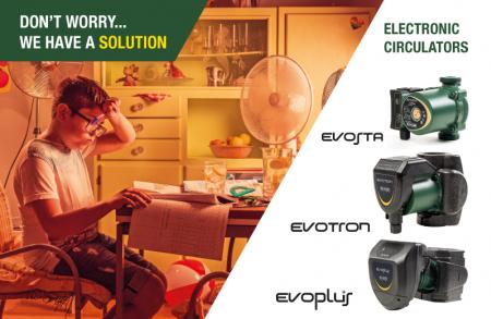 Electronic circulators evosta evotron evoplus