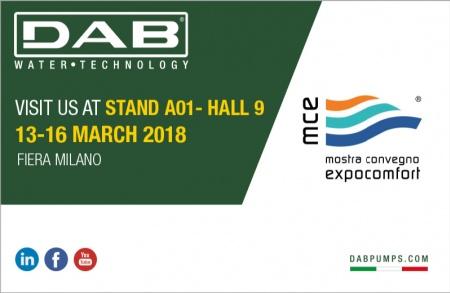 DAB at Mostra Convegno Expocomfort 2018