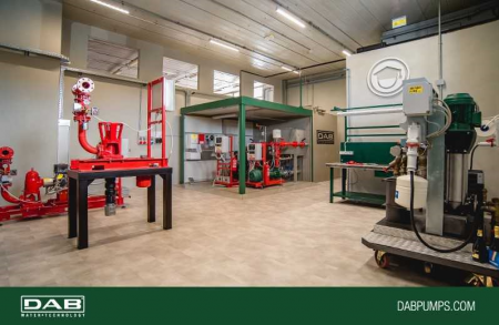 D.Lab, the laboratory for technical training in fire-fighting