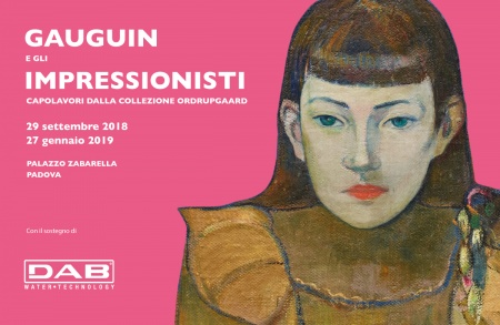 "DAB Pumps is one of the sponsors of the exhibition ""Gauguin and the Impressionists""."